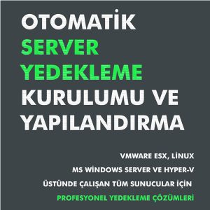 Otomatik Server Yedekleme Kurulumu