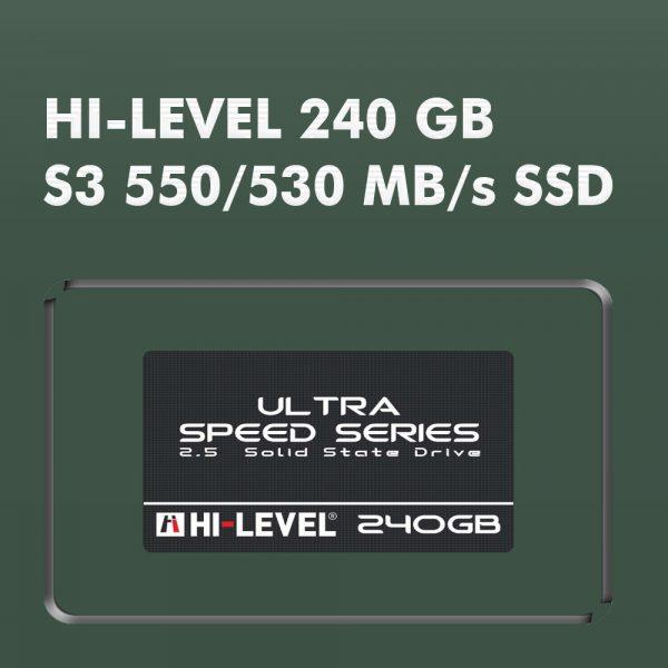 Hi-Level SSD Sata3 550/530 MB/s