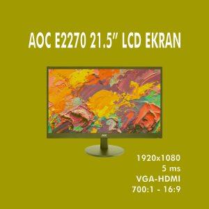 """AOC E2270 21.5"""" LCD EKRAN"""